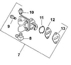Kohler fuel pump 12-559-02 12-559-02-s cv ch series - $54.99