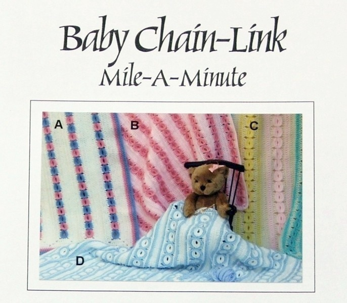 Crochet Pattern BABY CHAIN LINK MILE-A-MINUTE! JAO Pattern!
