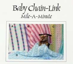 Crochet Pattern BABY CHAIN LINK MILE-A-MINUTE! JAO Pattern! Blankets To ... - $3.99