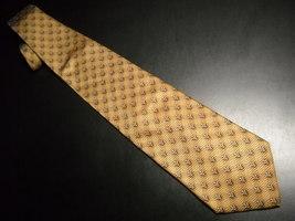Joseph Abboud Neck Tie Italian Silk Design No 70211 Browns Made in Italy - $12.99
