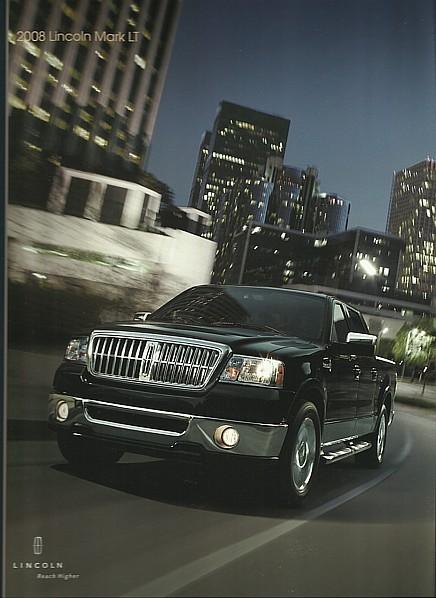 2008 Lincoln MARK LT sales brochure catalog US 08