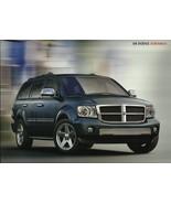 2008 Dodge DURANGO brochure catalog 08 SXT SLT ADVENTURER LIMITED - $8.00