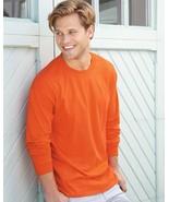 12 Blank Hanes Beefy Long Sleeve T-Shirt 5186 Bulk Lot ok to mix S-XL & ... - $95.55