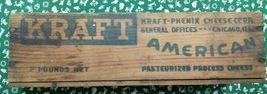 Kraft American Cheese 1930's 2 pound box - $21.00