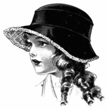 1916 Millinery Book Titanic Childrens Hats Caps Bonnets DIY Flapper Hat ... - $13.69