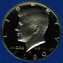 1980 S  Proof Kennedy Half Dollar CP2019 - $4.75