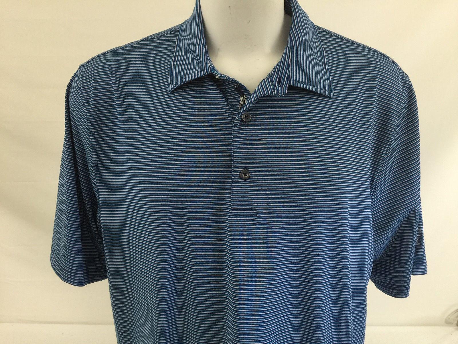 bff1ef7b2 Bobby Jones Mens Golf Shirt Blue Striped and 50 similar items