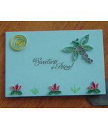 Handcrafted Paper Quill Plaque with Stand-New-the Sweetness  - $14.99