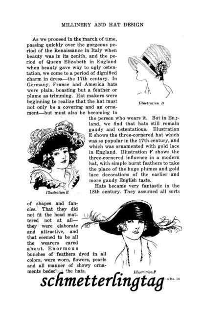 1920s MILLINERY Book Flapper Era Hat Making Make Roaring 20s Hats DIY Milliner