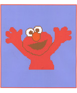 Elmo Crochet Graph Afghan Pattern - $5.00