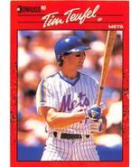 1990 Donruss #618 Tim Teufel NM-MT Mets - $0.99