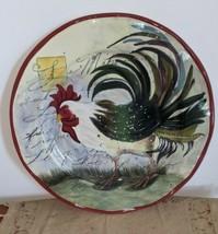 """Certified International Susan Winget Le Rooster 16"""" Large Serving Platter Plate - $29.69"""