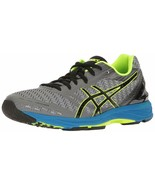 ASICS GEL-DS TRAINER 22 MEN'S RUNNING SHOE CARBON/BLACK/SAFETY YELLOW - $89.99