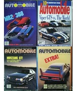4 Automobile PREMIERE and ANNIVERSARY special edition magazines 1986 198... - $12.00