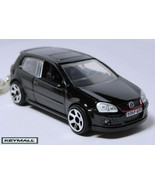 Porte Cle VW VOLKSWAGEN GOLF GTI Noir BLACK Fashion Keyring - $32.95