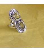 gorgeous genuine irish topaz in sterling silver... - $25.00
