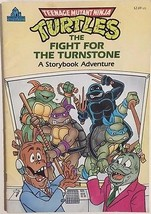 TEENAGE MUTANT NINJA TURTLES Fight for the Turnstone 1991 Random House c... - $9.89