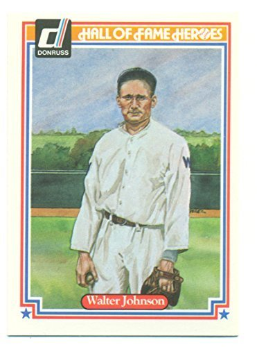Primary image for 1983 Donruss Hall of Fame Heroes Walter Johnson #6 - Baseball Card
