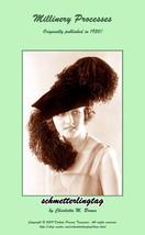 1930 Flapper Millinery Book Hat Making Make roaring 20s Hats DIY Milline... - $15.45