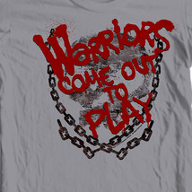 The Warriors Come out and play T-shirt 70's retro style 100% cotton tee  PAR43 image 2