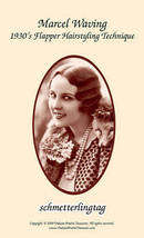 1930s Flapper Prohibition Hairstyle Book Marcel Waving DIY Beautician Hairstyles - $15.45