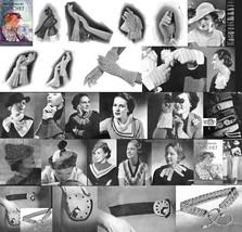 1935 Prohibition Hat Glove Patterns Book DIY Depression Millinary Reenac... - $11.93