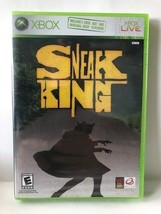 Sneak King (Xbox, 2006) Brand New and Sealed It sells and ship from USA! - $4.45
