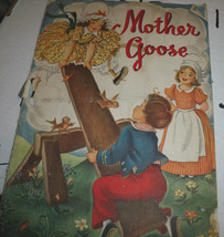 Mother Goose (1949 Whitman) Eileen Fox Vaughan SC Book  - $10.02