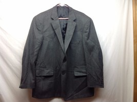 Mens Dark Gray Blazer by Stafford Sz 50R