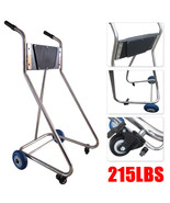 Stainless Steel Boat Outboard Motor Stand Cart Dolly With Wheel Enginee ... - $99.00