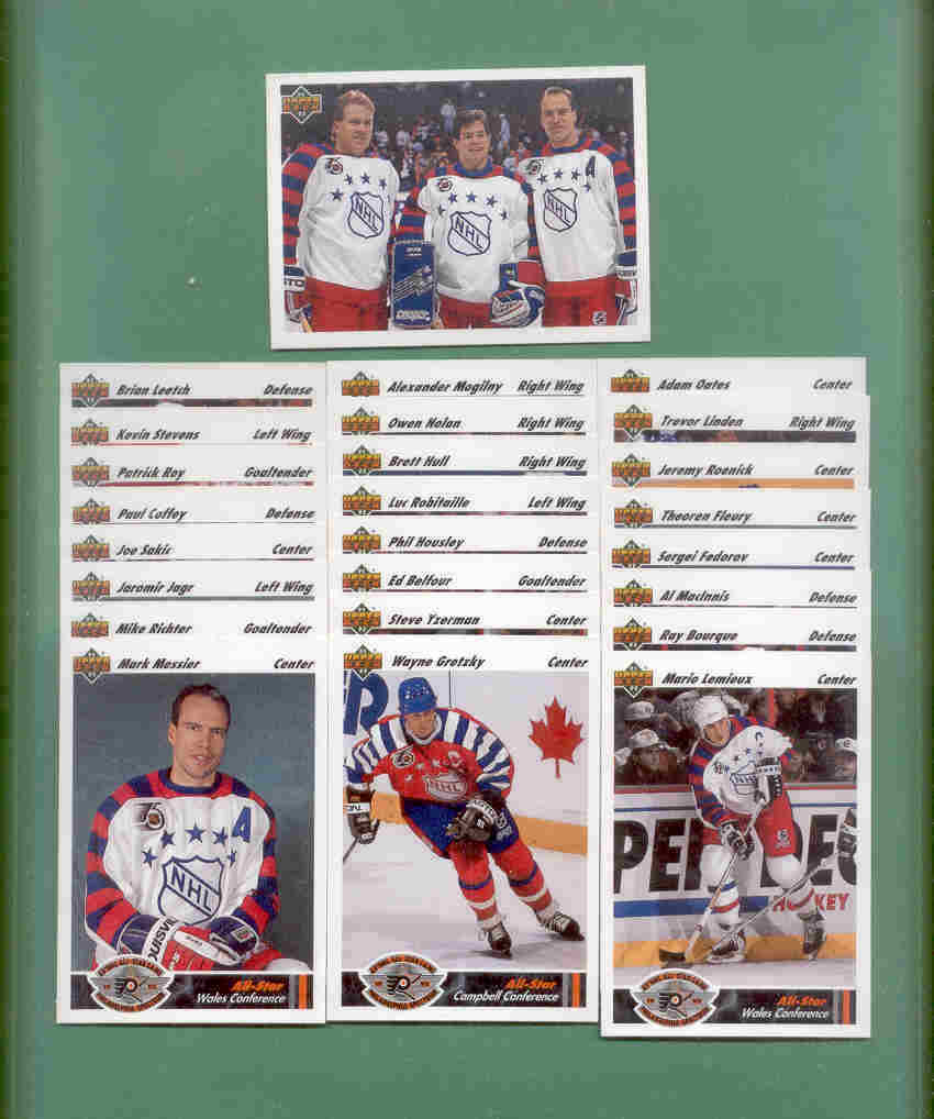 1991/92 Upper Deck All Star Game Hockey Set