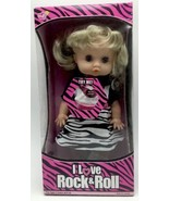 I Love Rock And Roll Doll Working Eyes By Lovee Dolls 10 inch New - $18.80