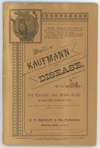 Kaufmann on Disease book sulphur bitters patent medicine Ordway Co Bosto... - $42.00