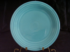 Vintage Fiestaware Turquoise Lunch Plate Fiesta  E - $13.00