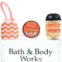 Bath & Body Works Energy Scentportable, PocketBac, Orange Chevron Holder - $20.30