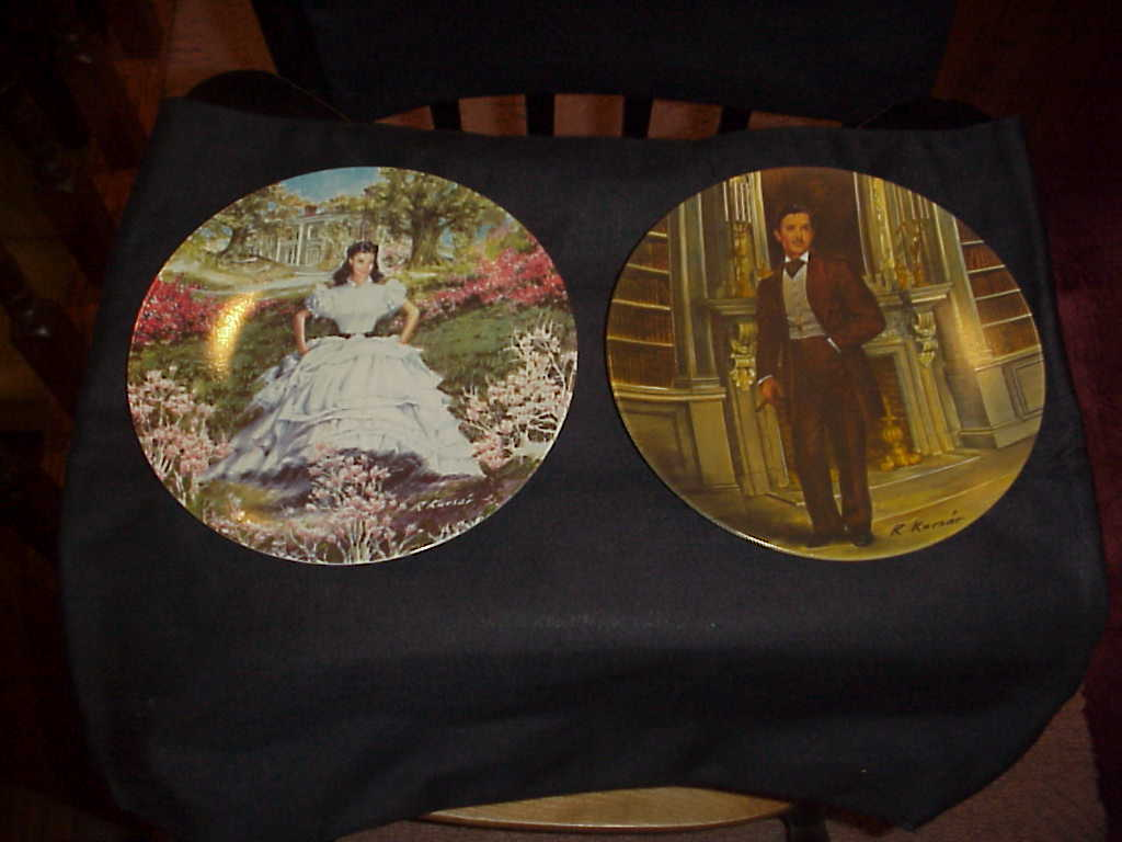 Plate  p  gwtw gone w the wind
