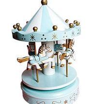PANDA SUPERSTORE Fashion Cute Carousel Clockwork Musical Box