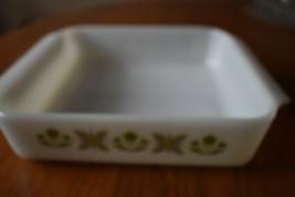 "Meadow Green Anchor Hocking 8 X 8x 2"" Brownie Cake Pan #435 - $14.84"