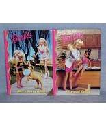 Grolier Barbie & Friends Book Club 2 Glossy Hardcover Books Excellent Co... - $6.99