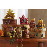 Autumn/fall Characters Collectible Sitter Set - $19.95