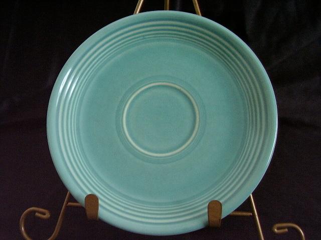 Vintage Fiestaware Turquoise Saucer Fiesta  G