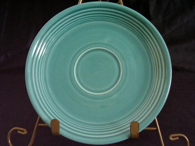 Vintage Fiestaware Turquoise Saucer Fiesta  F