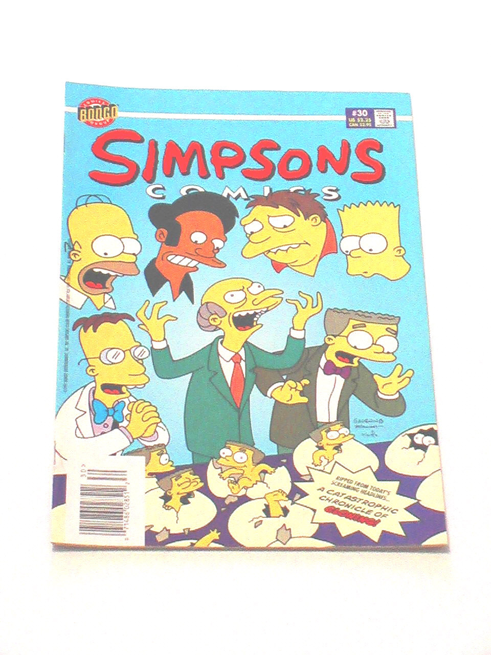 Simpsons Comics - Issue #30, 1997