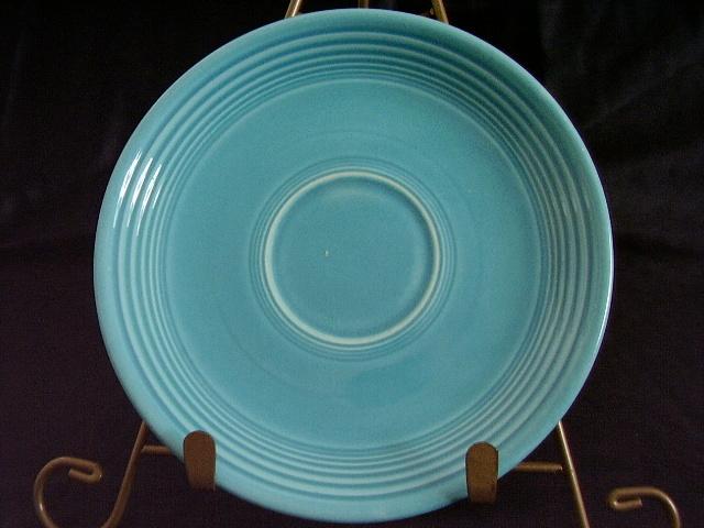 Vintage Fiestaware Turquoise Saucer Fiesta  E