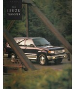 1993 Isuzu TROOPER sales brochure catalog US 93 S LS - $10.00