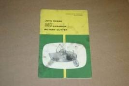 JD John Deere 307 Gyramor Rotary Cutte Operators Manual - $24.70