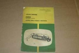 JD John Deere 850 Side Delivery Rake Operators Manual - $35.00