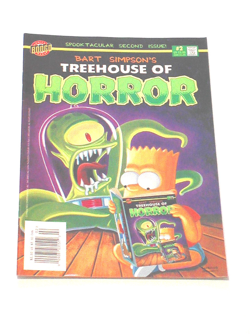 Bart Simpson's Treehouse of Horror - Issue #2, 1996