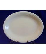 Vintage Fiestaware Ivory Oval Serving Platter Fiesta  B - $38.40