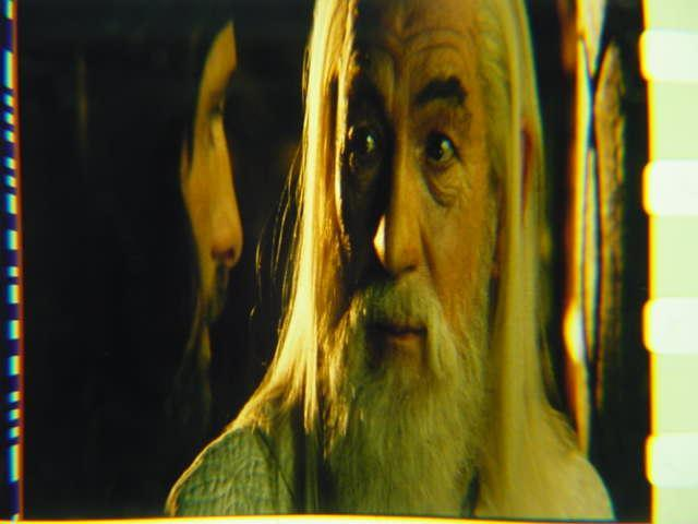 Lord of the Rings 35mm film cell transparency LOTR Slide 17